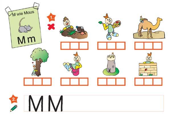 Lernvorlagen: 1. Klasse   kinder.de