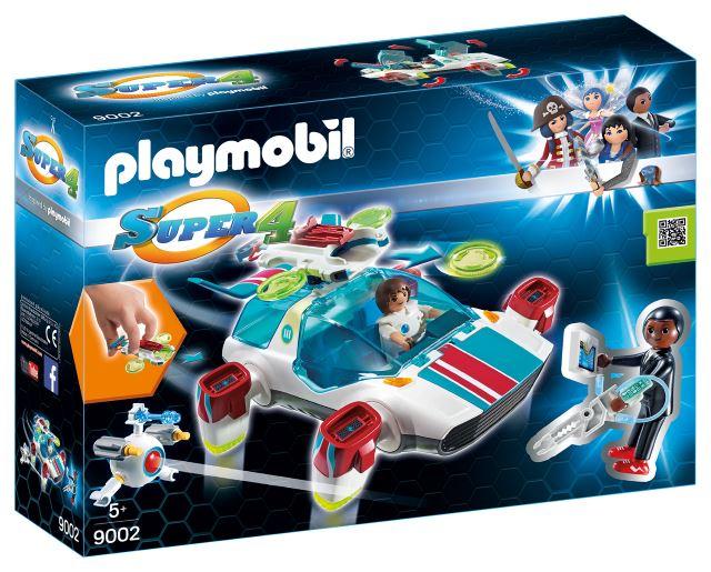 Playmobil SUPER 4 FluguriX Packung