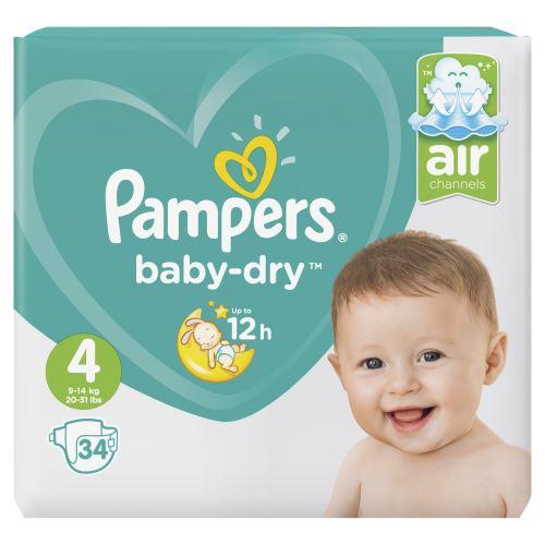 Guter Schlaf liegt in der Luft: Pampers Baby-Dry Windeln mit innovativer Luftkanaltechnologie für atmungsaktive Trockenheit