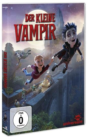 DER KLEINE VAMPIR – Ab 30. März DVD, Blu-ray und Video on Demand erhältlich!