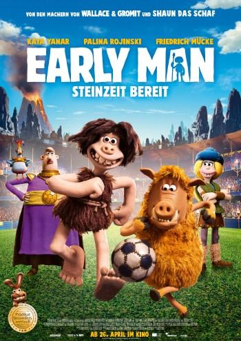 Gewinnt zum Kinostart von EARLY MAN – STEINZEIT BEREIT Fanpakete!