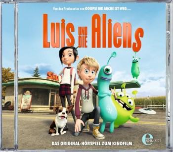 Luis und die Aliens – Gewinnt zum Kinostart ein Hörspiel und ein Buch!