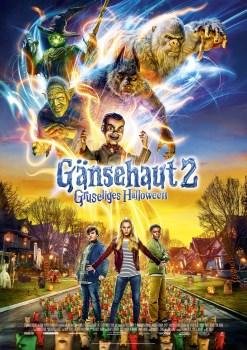 """Gewinnt zum Kinostart von GÄNSEHAUT 2: GRUSELIGES HALLOWEEN das Spiel """"Geisterjagd"""""""