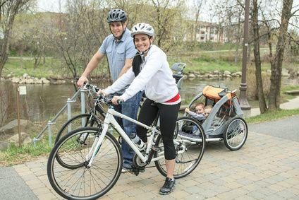 Fahrradsitze: Sichere Radtouren mit Kids?