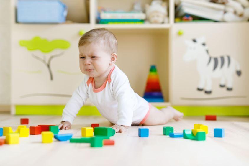 Im ersten Jahr lernen Babys auch erste Niederlagen kennen.