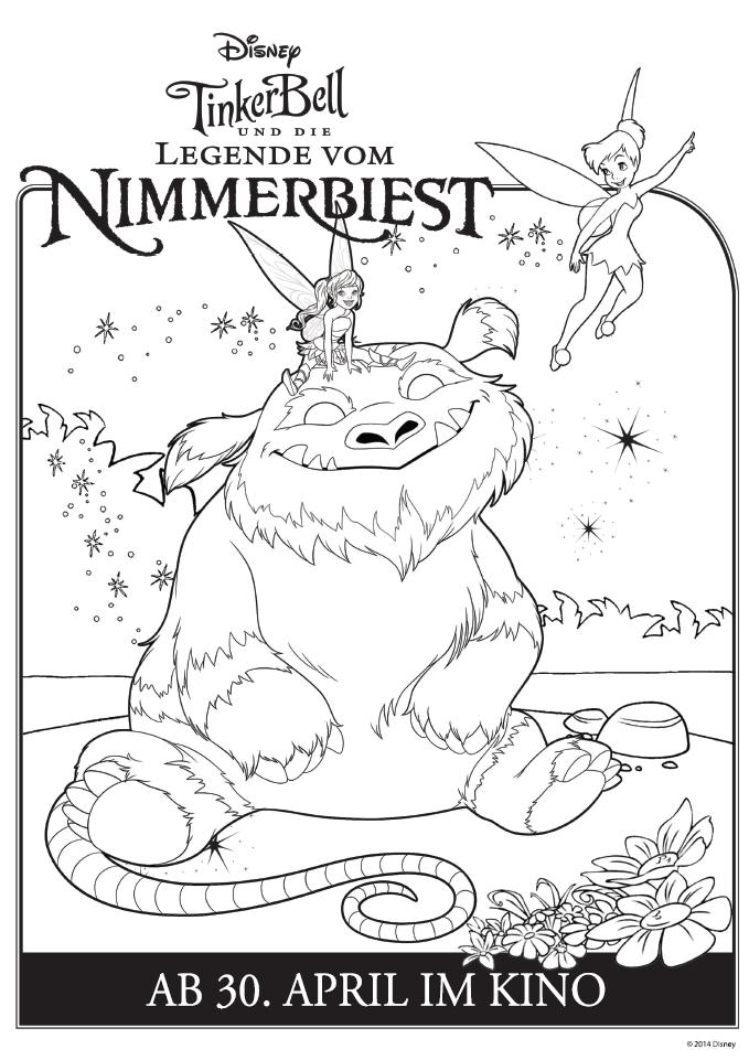 tinkerbell und die legende vom nimmerbiest  kinderde
