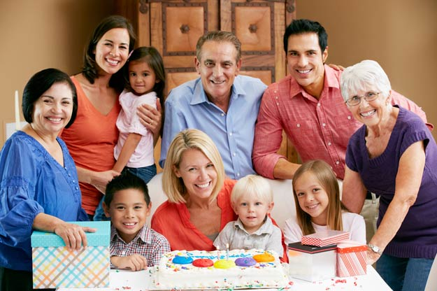Familienfeste in der Patchworkfamilie