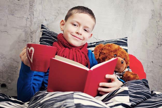 Tipps, damit kranken Kindern nicht langweilig wird