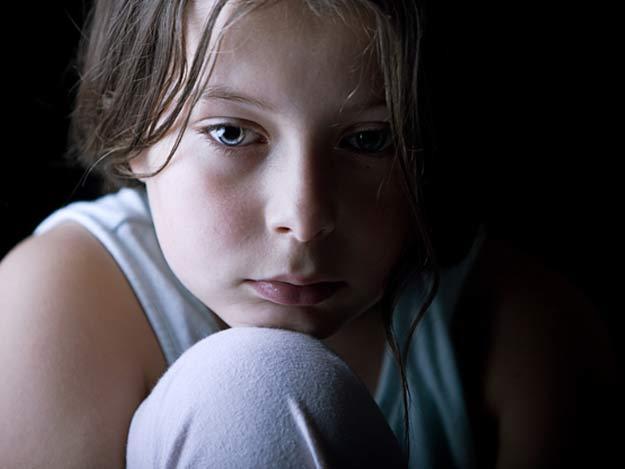 Ein Schüler leidet unter depressiven Verstimmungen.