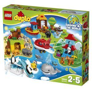 Auf großer Weltreise mit dem LEGO DUPLO Set Einmal um die Welt