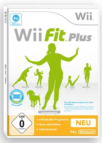 wii fit plus. Black Bedroom Furniture Sets. Home Design Ideas