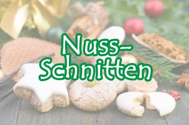 Nuss-Schnitten