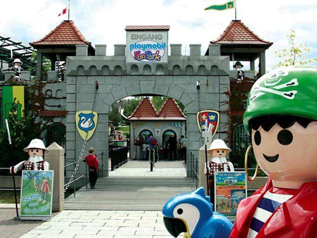 Der Eingang zum PLAYMOBIL FunPark.